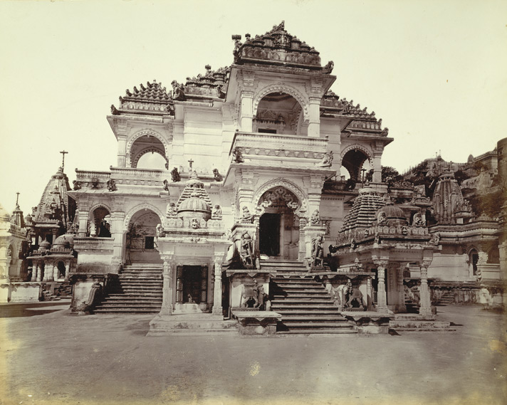 Main façade of the Great Motisah Temple, Satrunjaya 1000192020